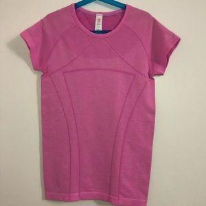 Pink Ivivva Fly Tech Shirt